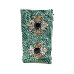 STARRY GREEN PHONE WALLET