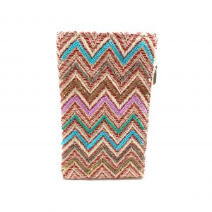 CHEVRON GLITZ PHONE WALLET