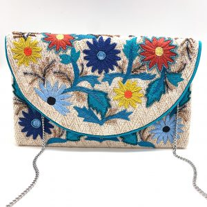 FLOWERS IN BLOOM CLUTCH