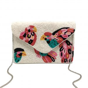 MULTI COLOR BIRD BAG
