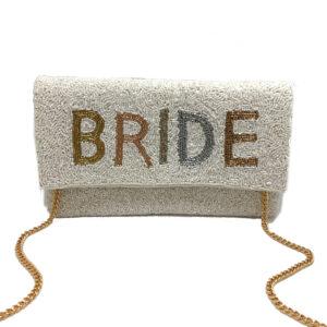 OMBRE BEADED BRIDE BAG