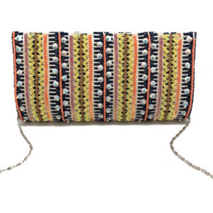 MULTI STRIPED HARD CLUTCH