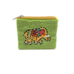 ELEPHANT BEADED CLUTCH